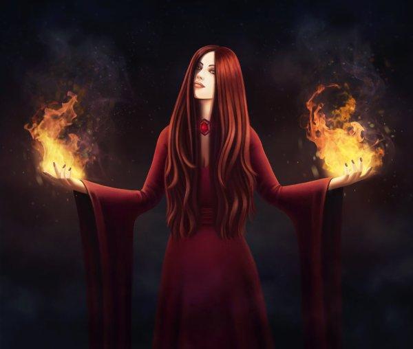 Profecías de Melisandre por Agentk19-Daqmane