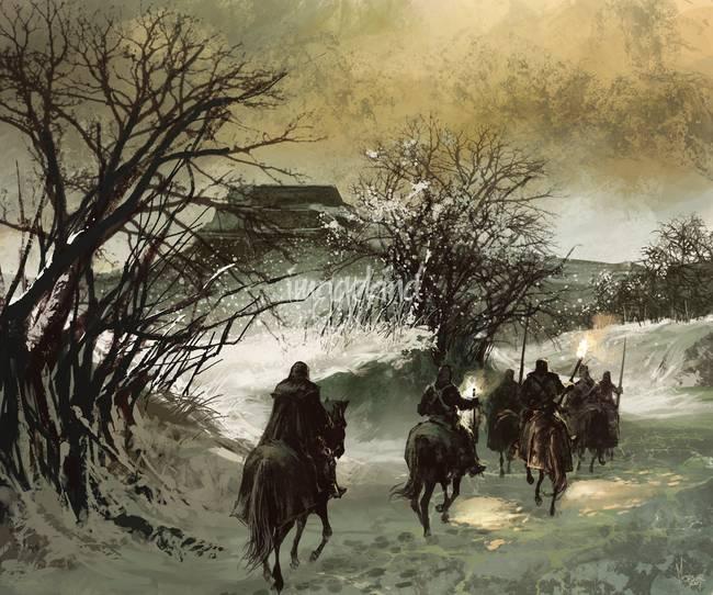 Norteños en la nieve