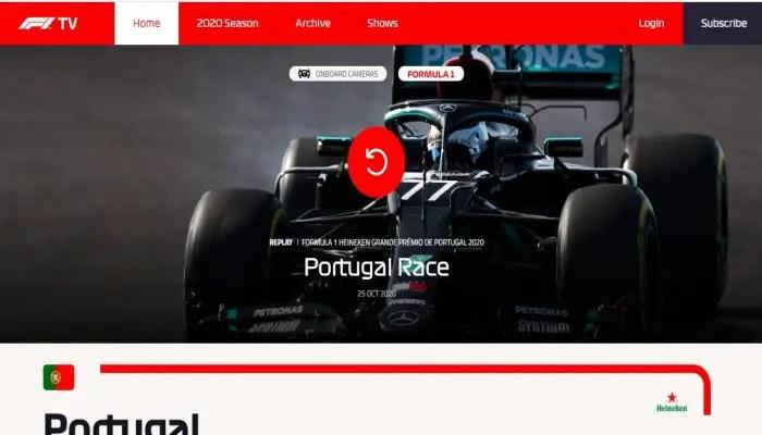 F1 TV ແລະ F1 TV Access