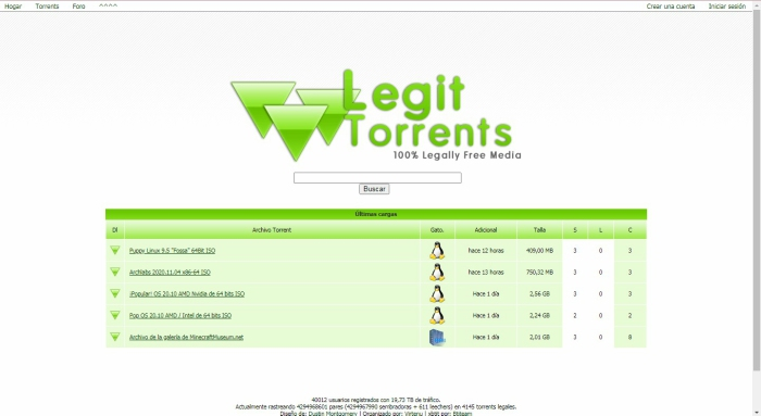 Legittorrents