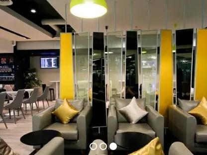 例:バンコク/スワンナプーム国際空港 ラウンジ
