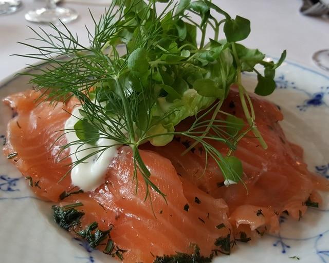 Restaurant Kronborg - Laks 540