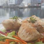 Øl- og honningglaseret kylling