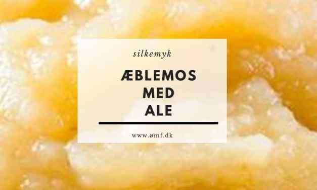 Æblemos med ale