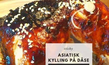 Asiatisk kylling på øldåse