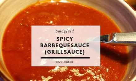 Spicy barbecueølsauce (Grillølsauce)