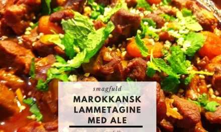Morokkansk lammetagine med ale