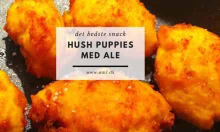 Hush Puppies med Ale