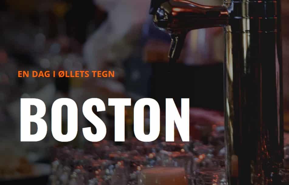 En dag i øllets tegn i Boston
