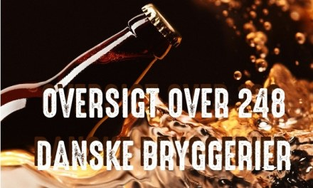 Det er nu 248 Bryggerier i Danmark