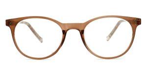 Pudderfarvede, transparente og billige læsebriller