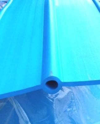 PVC วอเตอร์สต๊อป A8aT 8 นิ้ว 3 ปุ่ม หนา 5 มม. (มอก.)
