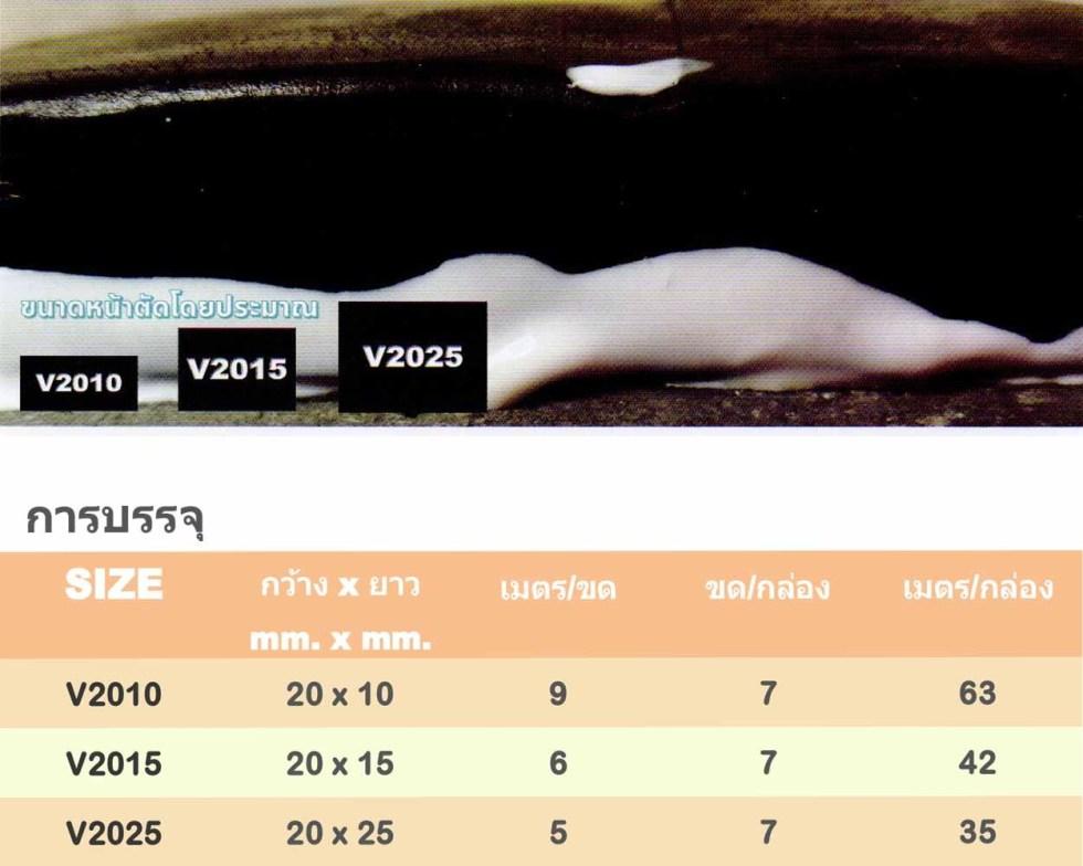 V2015 ยางบวมน้ำ 20 มม.x15 มม. (42 เมตร)