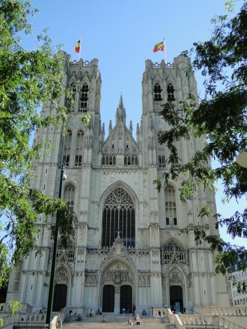 Zwiedzanie Brukseli - Cathedrale St. Michael