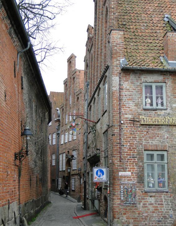 Atrakcje turystyczne Lubeki - Stare Miasto