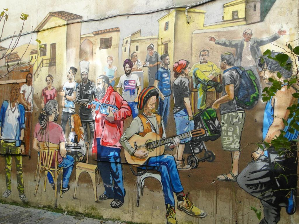 Co warto zobaczyć w Nikozji? - mural