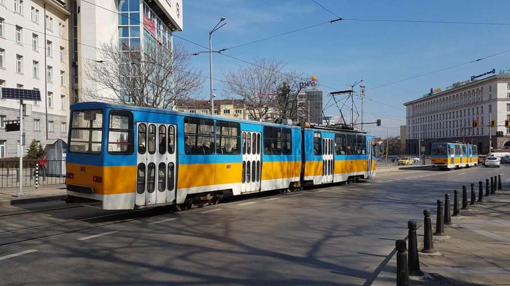 Sofia w dwa dni - komunikacja miejska