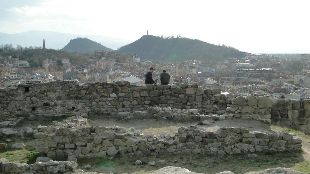 Zwiedzanie Płowdiwu - wzgórze Nebet
