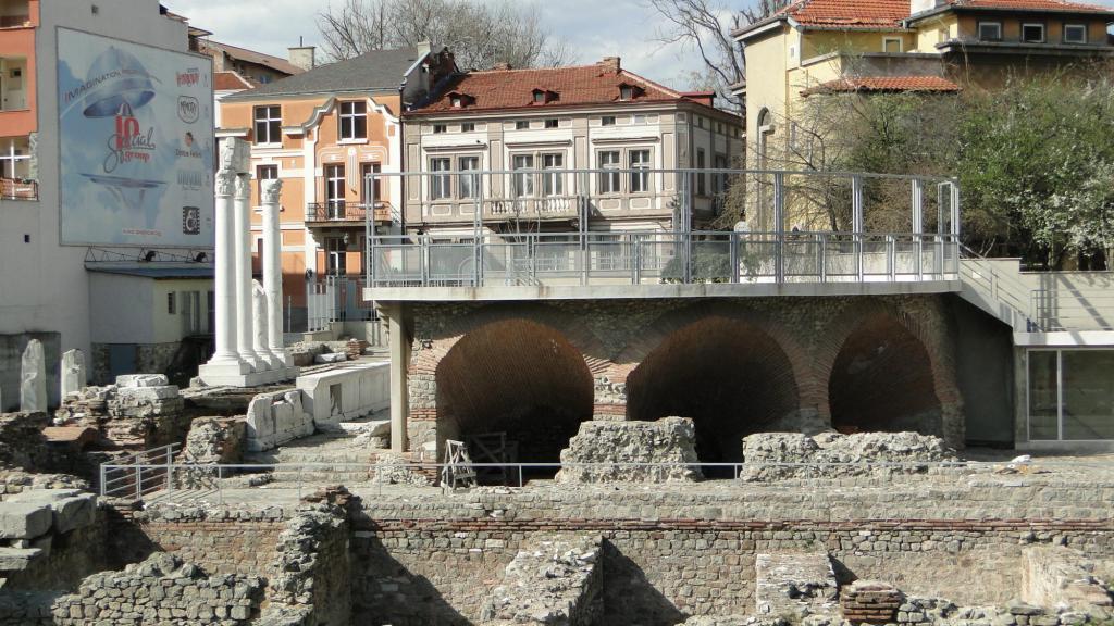 Zwiedzanie Płowdiwu - rzymski odeon