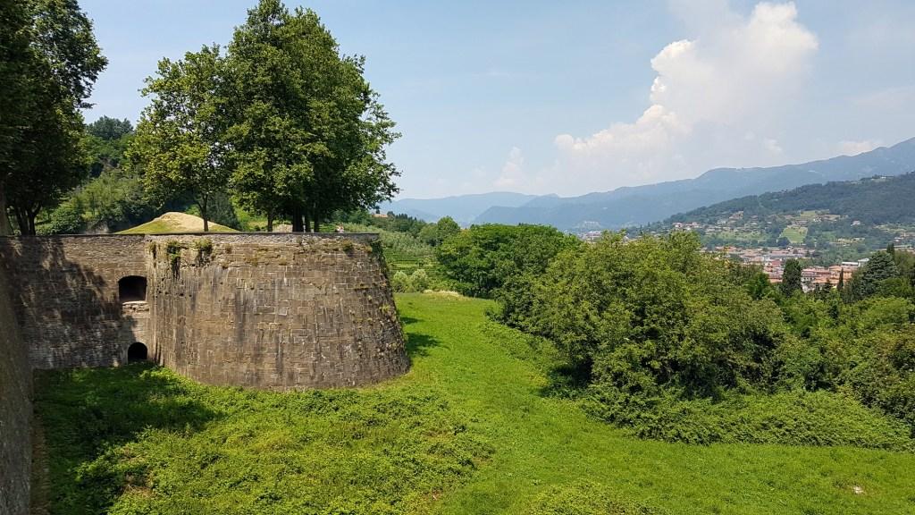 Bergamo w jeden dzień - Citta Alta, mury weneckie