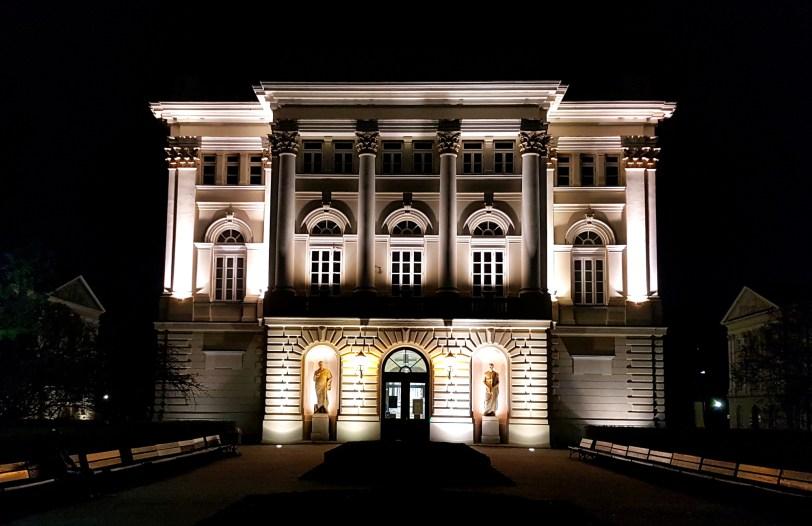 Weekend w Warszawie - budynek starej Biblioteki Uniwersyteckiej
