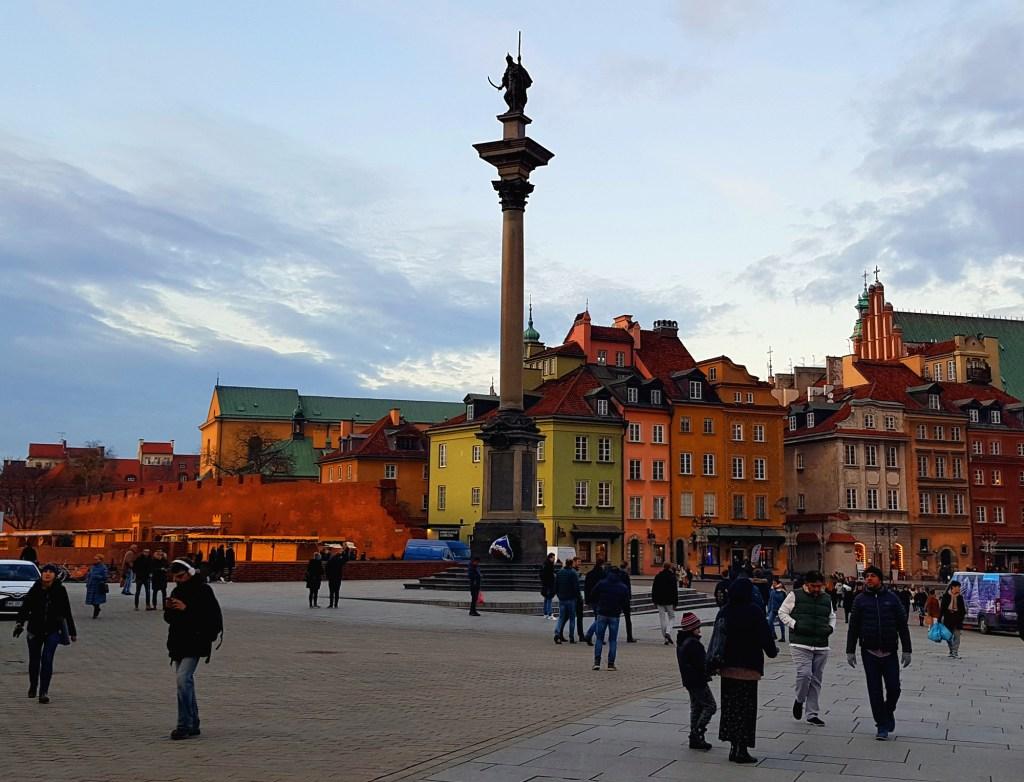Weekend w Warszawie - Plac Zamkowy