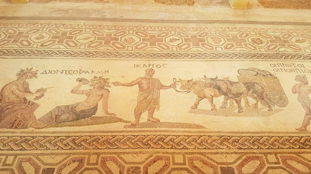Co warto zobaczyć w Pafos? - mozaiki w Parku Archeologicznym