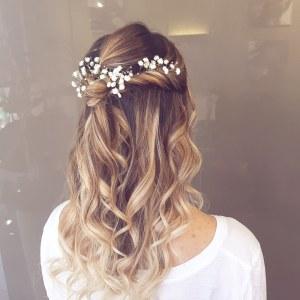 coiffure de mariage, mariage, spa, maquillage mariée