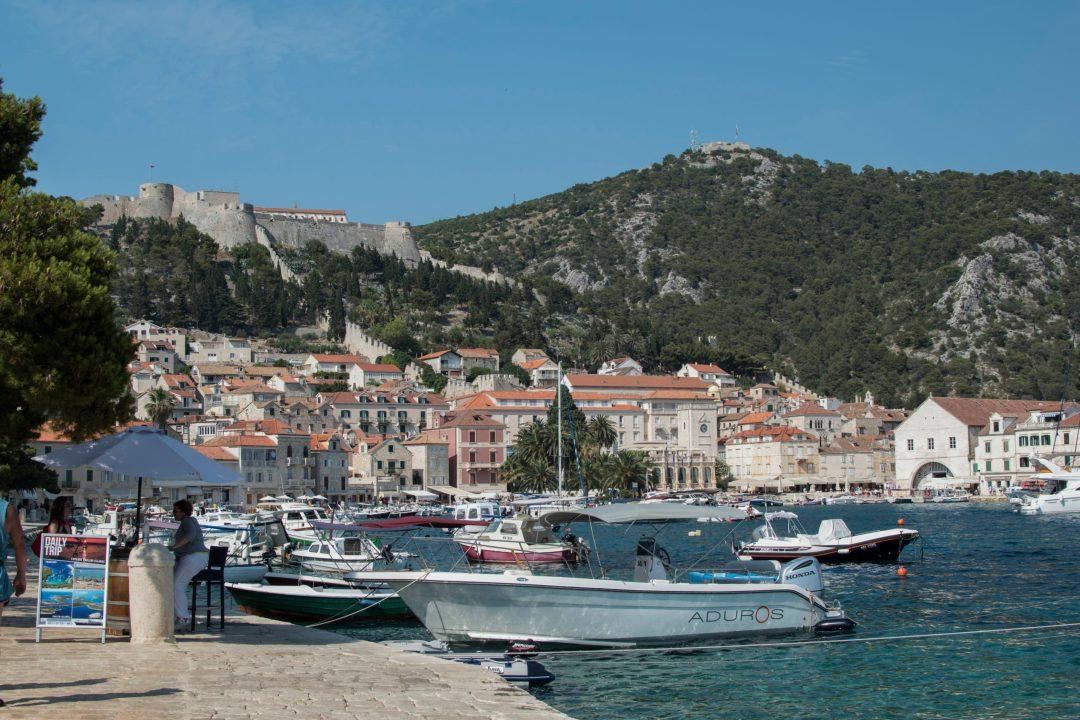 Bateau, Port Croatie