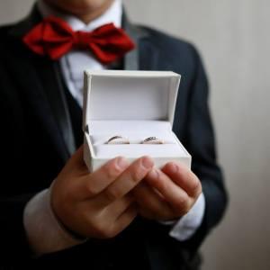 Alliances mariage, boîte alliances, photographies mariage