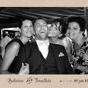 Animaphot, photobooth, mariage, Montpellier, photos