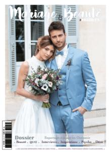Illustration du magazine Mariage&Beauté en vente chaque année au mois d'octobre