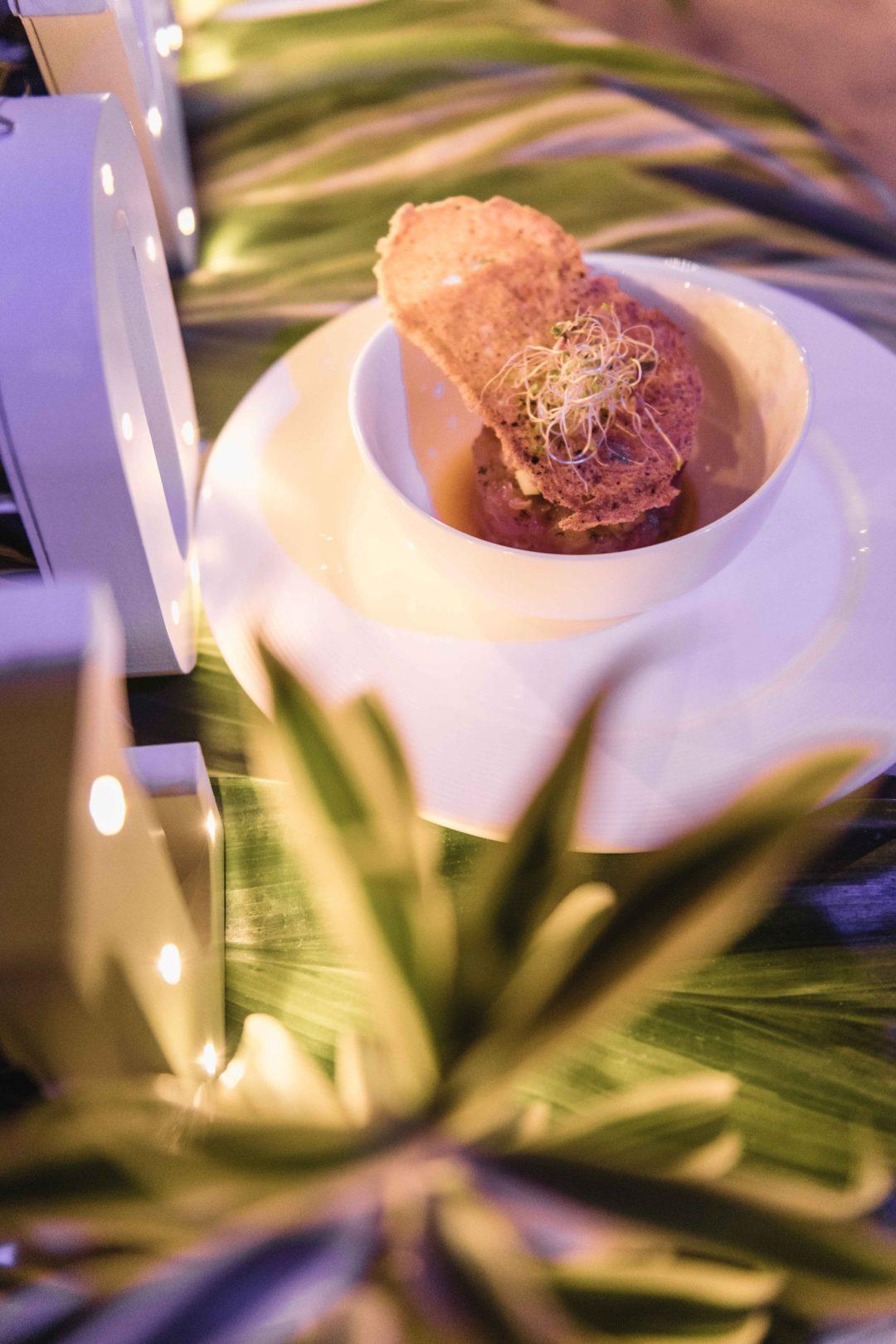 Repas mariage, assiette, menu mariage, mariage tahiti