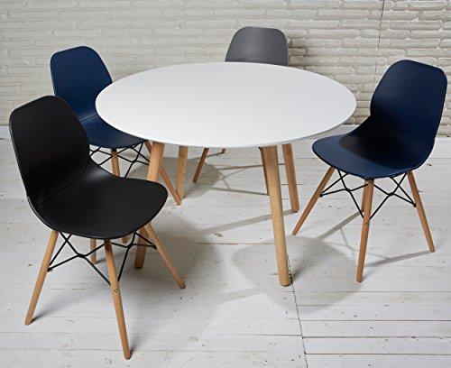 kchentisch rund 80 cm excellent tisch esstisch eiche. Black Bedroom Furniture Sets. Home Design Ideas
