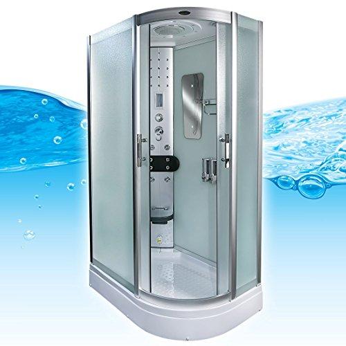 AcquaVapore DTP8060-7010R Dusche Duschtempel Komplett Duschkabine 80x120