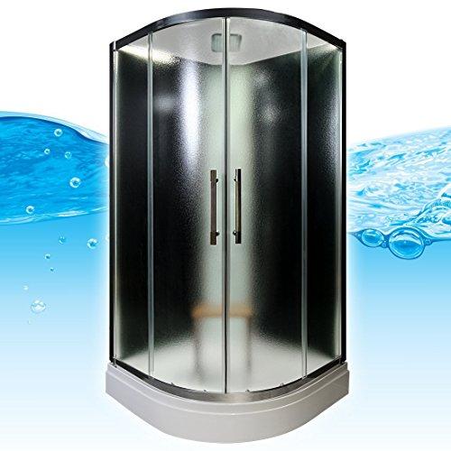 AcquaVapore QUICK16-2310 Dusche Duschtempel Komplette Duschkabine 100x100