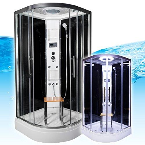 AcquaVapore QUICK26-2304 Dusche Duschtempel Komplette Duschkabine 100x100