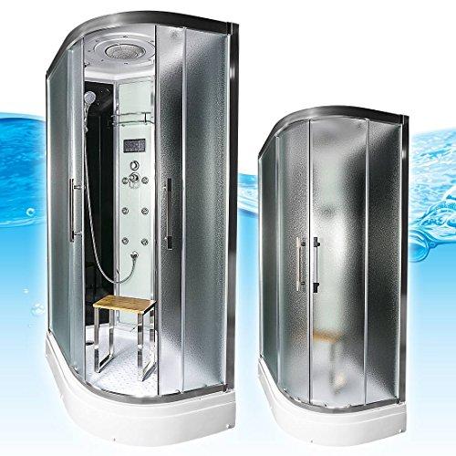AcquaVapore QUICK26-7311R Dusche Duschtempel Komplette Duschkabine -Th 80x120