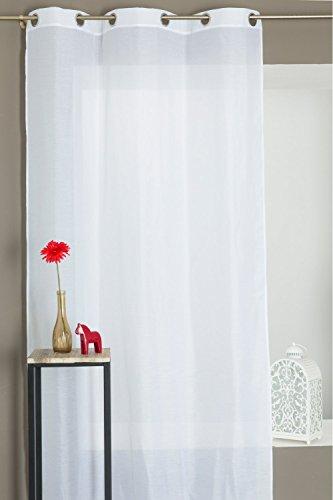 Extra Lange Klassische Gardine Für Hohe Fenster 300 Cm Natürlicher Look X