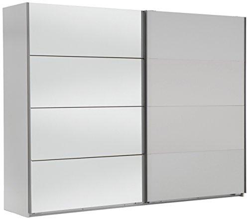 Wimex 507060 Schwebetürenschrank, 270 x 210 x 65 cm, alpinweiß / spiegel