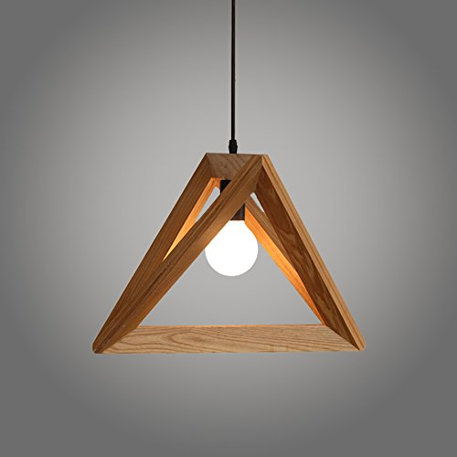 Weare Home Modern Holz Pendelleuchten für Restaurants oder Küchen, L32 cm der Grundlinie