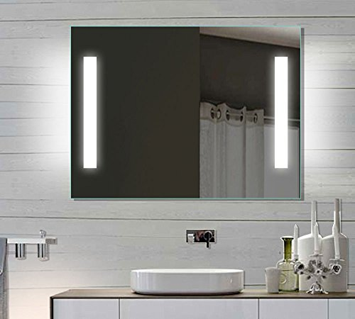 LED Badezimmerspiegel Badspiegel Wandspiegel Lichtspiegel 80x60 SPE8060H