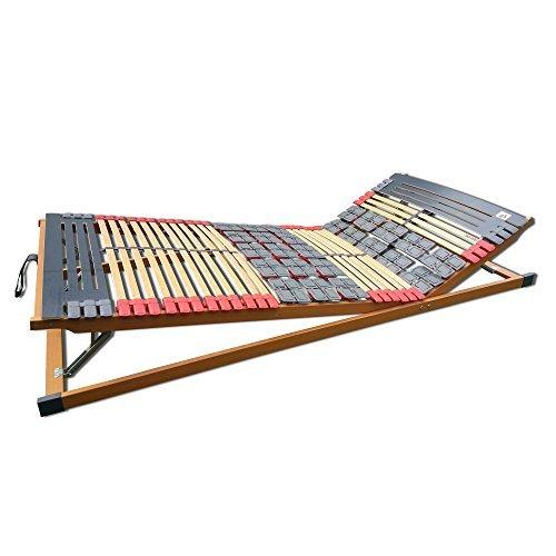 7 Zonen Teller-Leisten Lattenrost Rhodos Komfort KF verstellbar 100 x 200 cm