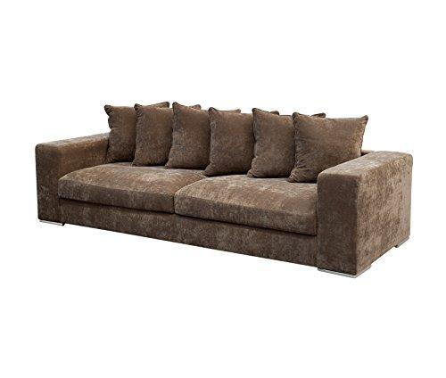 AMARIS Elements SO004.2 Sofa 4-Sitzer 265 x 106 x 65/45 cm, braun