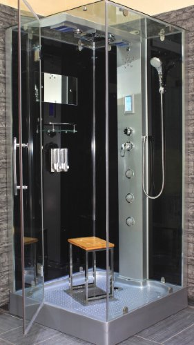 AcquaVapore DTP6038-4300L Dusche Duschtempel Komplett Duschkabine 100x100