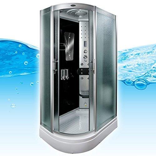 AcquaVapore DTP8060-7312L Dusche Dampfdusche Duschtempel Duschkabine 120x80