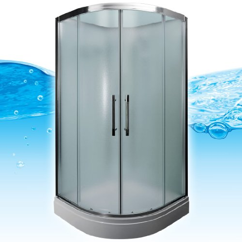 AcquaVapore QUICK16-1011 Dusche Duschtempel Komplette Duschkabine -Th 90x90