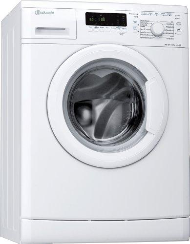 BauknechtWA PLUS 844 A+++ Waschmaschine / A+++ / Frontlader / 1400 UpM / 8 kg / Smart Select / Jeans Programm / Big window /unterbaufähig / Weiß