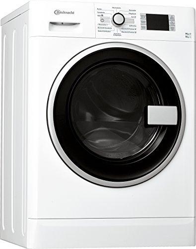 Bauknecht WATK Prime 9614 Waschtrockner / Energieeffizienzklasse A / Startzeitvorwahl und Restzeitanzeige / Mischwäsche und Wolle Programm / 1224 kWh/Jahr / weiß
