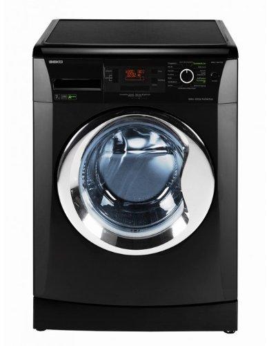 Beko WMB 71443 PTEB Waschmaschine Frontlader / A+++/ 1400 UpM / 171 kWh/Jahr / 7 kg / schwarz / Pet Hair Removal / Großes Display